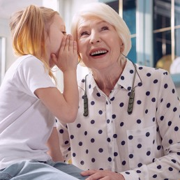BeHear ACCESS helps Grandmother hear Granddaughter whisper