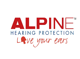 Alpine Hearing Protection Logo and motto
